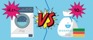 Precio lavandería bolsa 5kg