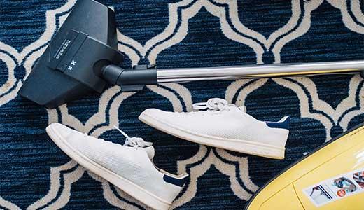 Cómo limpiar alfombras Washrocks