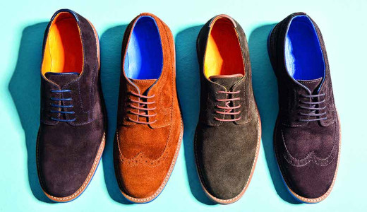 lavar zapatos ante
