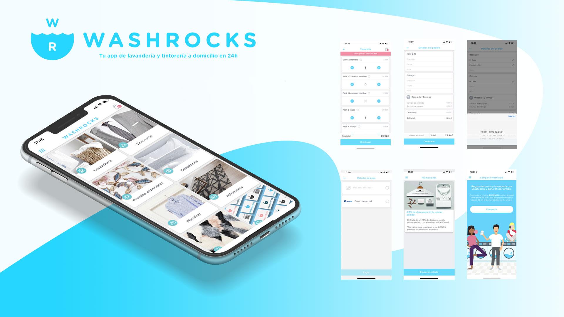 Washrocks App