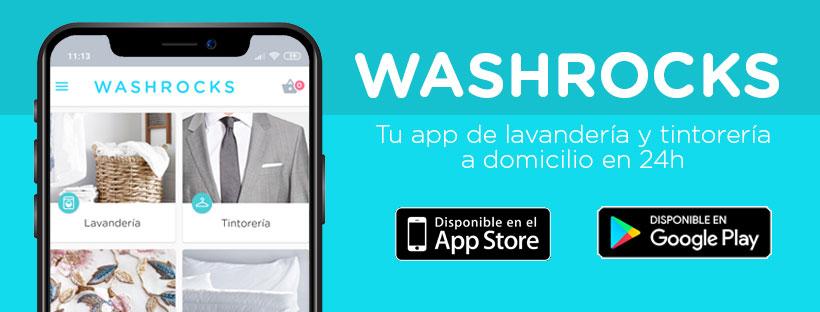 Washrocks, tu App de lavandería a domicilio