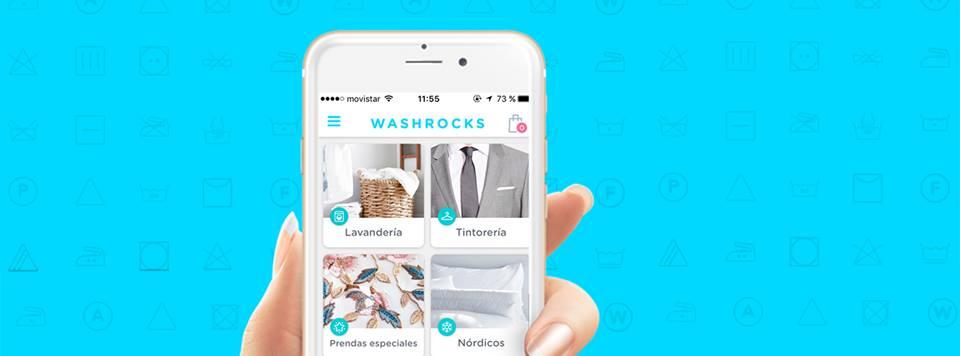 Llega el lanzamiento de la App de lavandería y tintorería a domicilio Washrocks