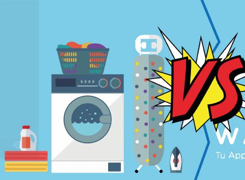Precio de hacer lavado y planchado en casa